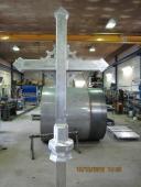 Alumiinista valmistettu risti